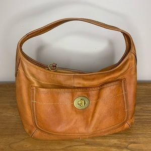 COACH Vintage Ergo Brown Leather Purse